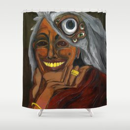 Wise Woman Shower Curtain