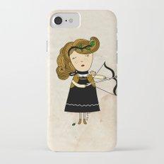 Sagittarius Girl Slim Case iPhone 8