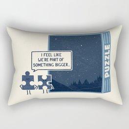 Something Bigger Rectangular Pillow
