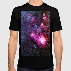 Tarantula Nebula Black Mens Fitted Tee MEDIUM