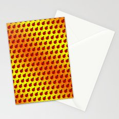 Ladybugs Pattern-Golden Glow Stationery Cards