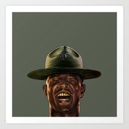 Major Payne Art Print