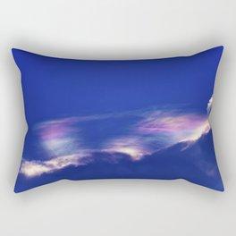 Fire Rainbow Rectangular Pillow