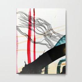 CONSTANT LANDING Metal Print