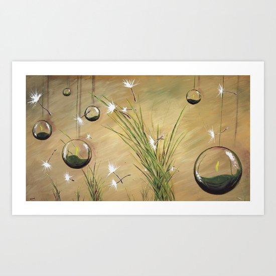 Light Breeze Art Print