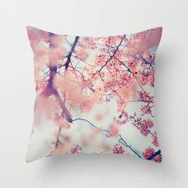 Sakura 03 Throw Pillow