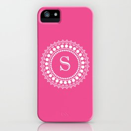 Circle of S iPhone Case