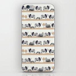 Brahman cattle breed farm gifts cow homestead animal sanctuary iPhone Skin