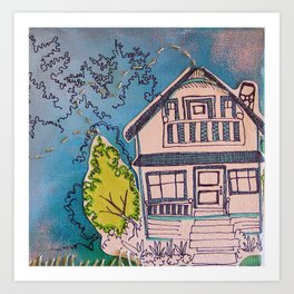 We Shall Live Here #9 Art Print