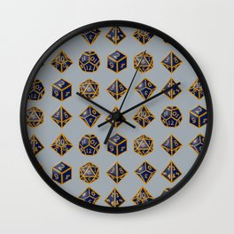 Dungeon Master Dice Wall Clock