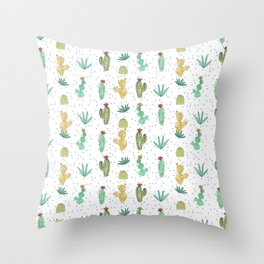 Cactus SERIE - CACTI LOVE Throw Pillow