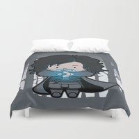 ghost Duvet Covers featuring Ghost? by Perdita