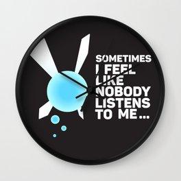 Hey! Listen! Wall Clock