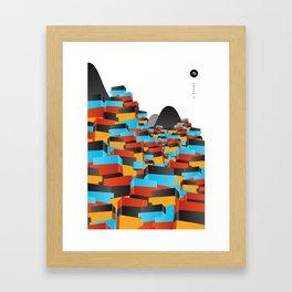 O Morro II Framed Art Print