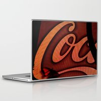 coke Laptop & iPad Skins featuring Coke Butterfly by BinaryGod.com