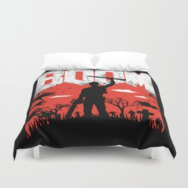 This... is my BOOMSTICK! Duvet Cover