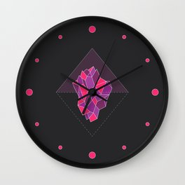 Enchanted Iceberg - Passion Wall Clock