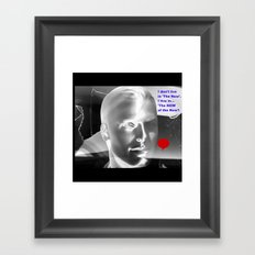 The NOW Of  The Now! Framed Art Print