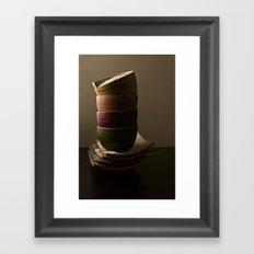 Bowls Framed Art Print