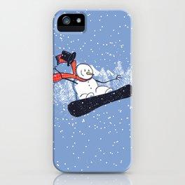 Snow Ahead! iPhone Case