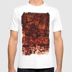 Re-make  Mens Fitted Tee MEDIUM White