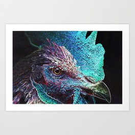 Nice Cock Art Print