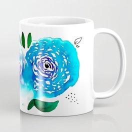 Three Blue Christchurch Roses Coffee Mug