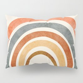 Abstract Rainbow 88 Pillow Sham