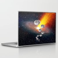 sci fi Laptop & iPad Skins featuring Sci-Fi Space Universe by  Agostino Lo Coco