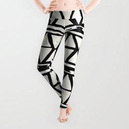 Tribal Geometric Band Leggings