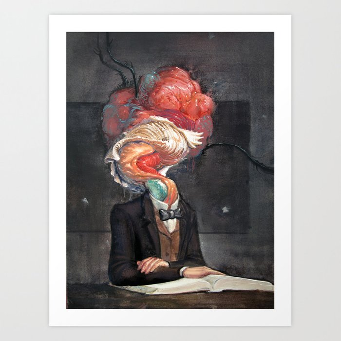 Mutant Scholar Art Print