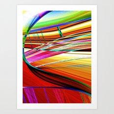 santa fe Art Print