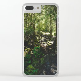 Oregon Forest Clear iPhone Case