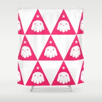 wizard Shower Curtains featuring Wizard by Momo & Sprits