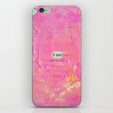 iampink iPhone & iPod Skin