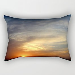 Sunrise 041017 Weatherford, Texas Rectangular Pillow