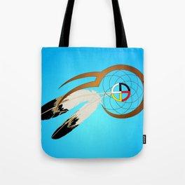 dreamcatcher blue Tote Bag