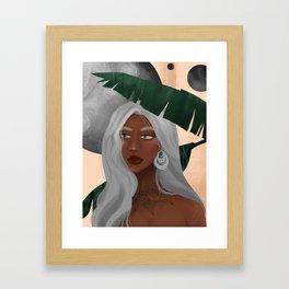 High Priestess Framed Art Print