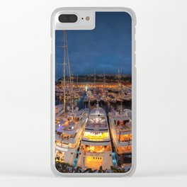 Port Panorama Clear iPhone Case