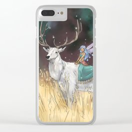 The Traveler Clear iPhone Case