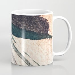 Thunder&Lightning {3}: Minimal watercolor abstract in pinks, blues, and greens Coffee Mug