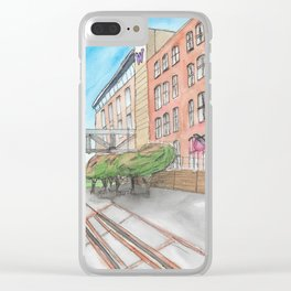 The Campus Railroad Clear iPhone Case