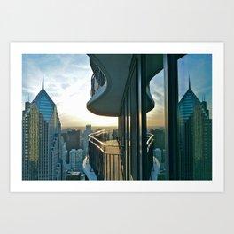 Chicago, 2012 Art Print