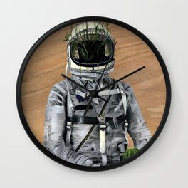 Cacti | Spaceman No:1 Wall Clock