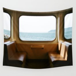 Ferry to Whidbey Island, Washington  Wall Tapestry