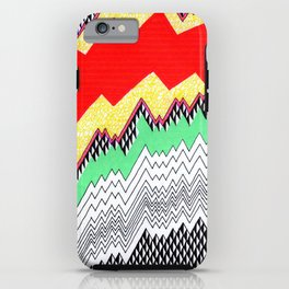 Isometric Harlequin #1 iPhone Case