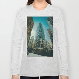 CITY - BUILDING - SQUARE - PHOTOGRAPHY Long Sleeve T-shirt