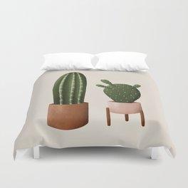 Pair of Cactus Duvet Cover