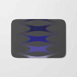 Blue&Grey Stretch Bath Mat