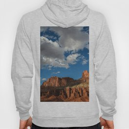 Blue Sky & Sandstone Cliffs - Capitol Reef National Park, Utah Hoody